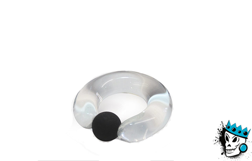 Gorilla Glass Clear Captive Bead Rings