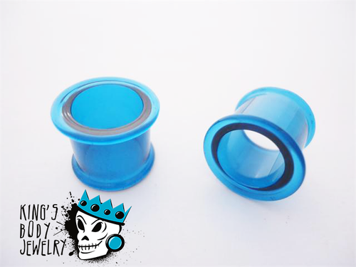 Gorilla Glass Ocean Double Flare Tunnels