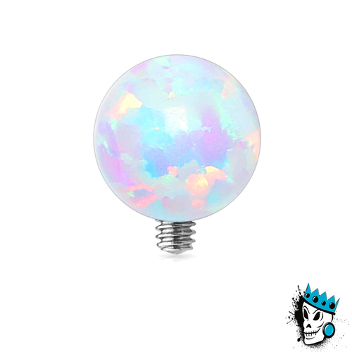 White Opal Ball Micro Dermal Top