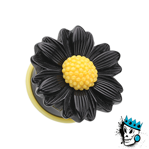 Black Daisy Plugs