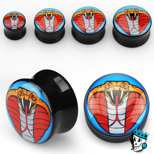 Cobra Acrylic Double Flare Plugs