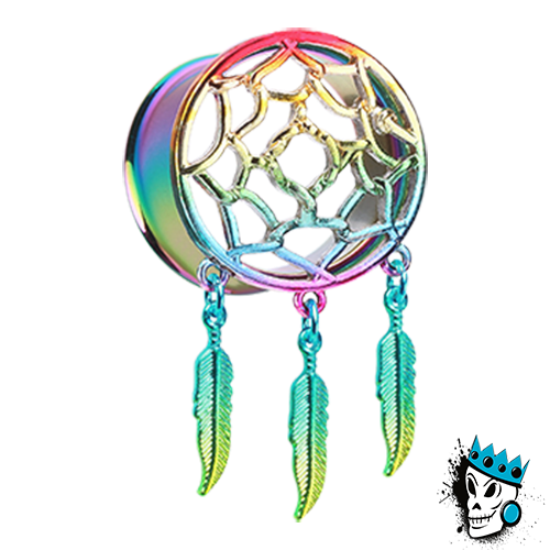 Multicolored Steel Dream Catcher Tunnels
