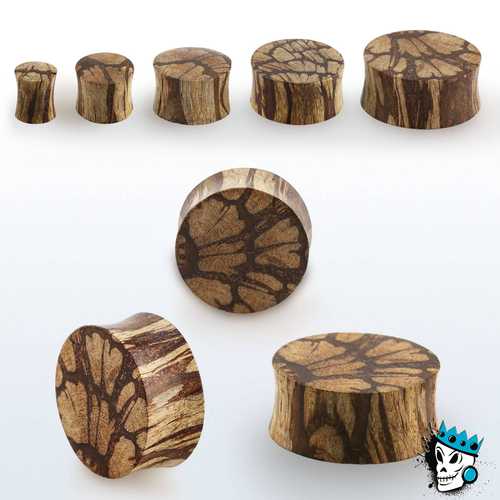 Batik Solid Wood Plugs