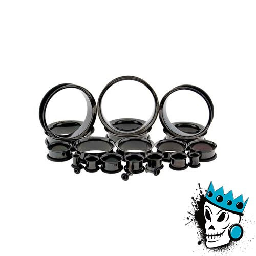 Black Single Flare Tunnels