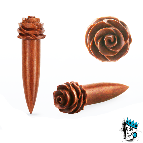 Sawo Wood Rose Tapers