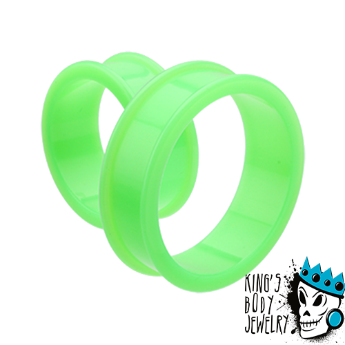 Green Silicone Tunnels