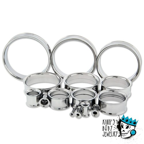 Stainless Steel INTERNALLY THREADED tunnels