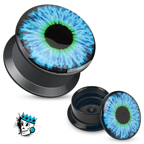 Blue Eyeball Plugs