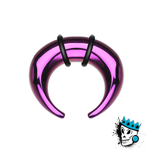 Purple Anodized Stainless Steel Pinchers