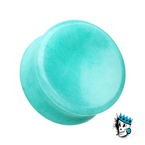 Amazonite Concave Stone Plugs