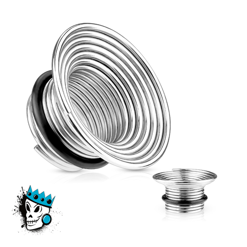 Wire Coil Steel Single Flare Tunnels