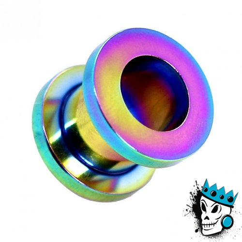 Multicolored Steel Flesh Tunnels