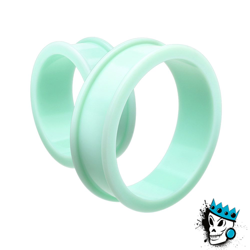 Teal Silicone Tunnels