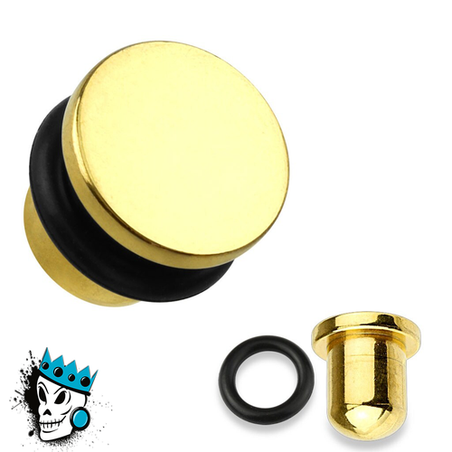 Gold Bullet Style Plugs