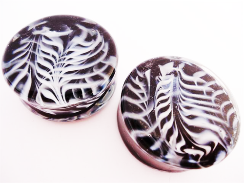 Gorilla Glass Feather Plugs