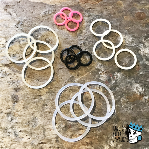 Replacement O Rings, Various Colors (16 g - 2 inch)