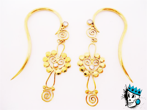 Filigree Bronze Hanging Hooks