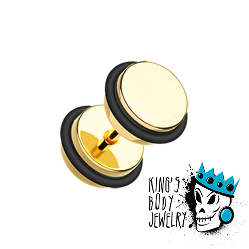 Gold Fake Plugs