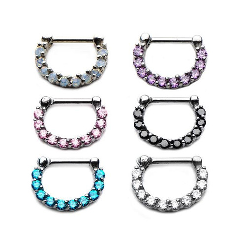 Bling Septum Clicker (16 gauge - 14g)