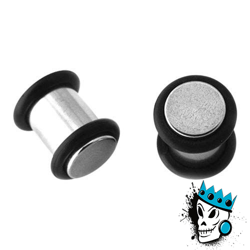 No Flare Steel Plugs
