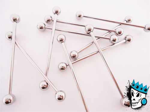 Stainless Steel Industrial Barbell