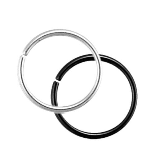 Seamless Steel Segment rings - Various Colors (20g - 14 gauge)