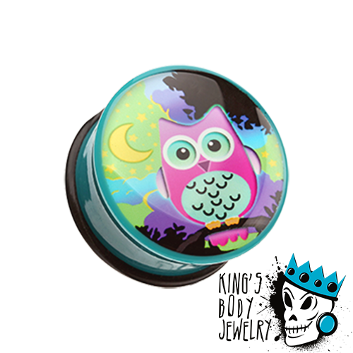Colorful Owl Plugs