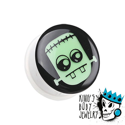 Glow in the Dark Frankenstein Plugs