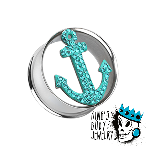 Bling Anchor Plugs