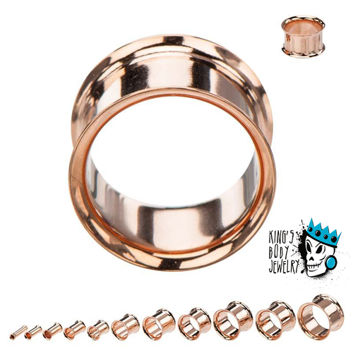 Rose Gold Double Flare Eyelets