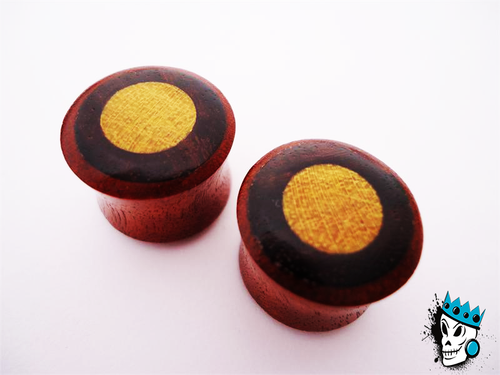 Saba/Arang/Jackfruit Mixed Wood Plugs