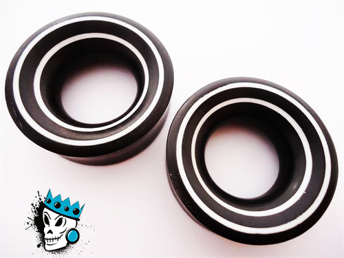 Ebony Tunnels w/ Double White Lines