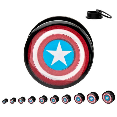 Captain America Marvel Flesh Tunnels