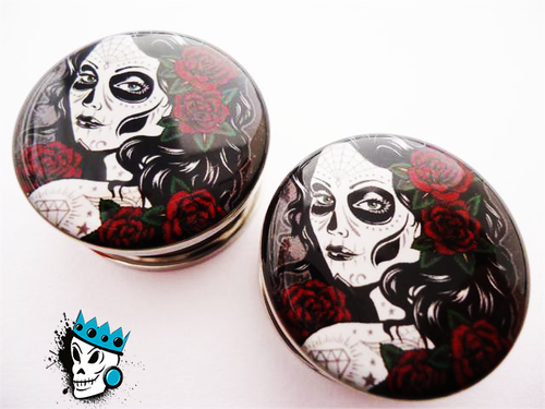 Day of the Dead Girl Flesh Tunnels