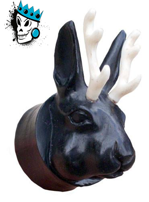 Black Areng Jackalope Plugs
