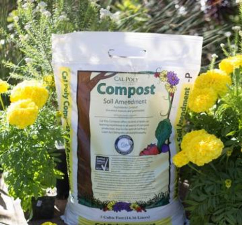 bag of cal poly compost