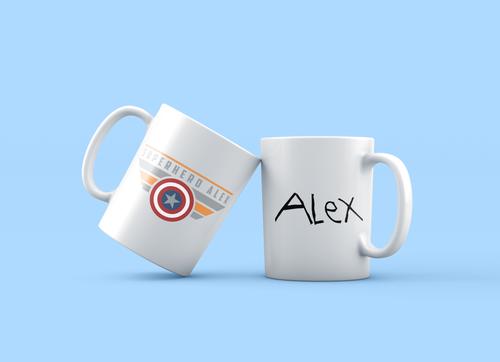 Superhero Alex Coffee Mug
