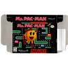 Ms. Pac-Man - Empty SNES Box
