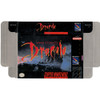 Bram Stoker's Dracula - Empty SNES Box