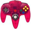 Original Controller Clear Red - Nintendo 64 (N64)