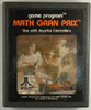 Math Gran Prix - Atari 2600 Game