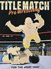 Title Match Pro Wrestling - Atari 2600 Game