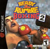 Ready 2 Rumble Round 2  - Dreamcast Game