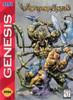 Weapon Lord - Genesis Game