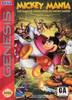 Mickey Mania - Genesis Game