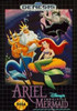 Ariel Disney's The Little Mermaid - Genesis Game
