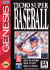 Tecmo Super Baseball - Genesis Game