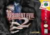 Resident Evil 2 Nintendo 64 N64 video game box art image pic