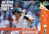 All Star Baseball 2001 - N64 Game