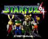 Star Fox 64 Nintendo 64 N64 video game title screen image pic